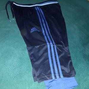 Adidas mens work out shorts